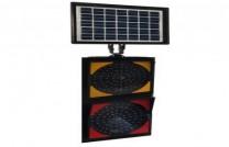Güneş Enerjili LED'li Q200mm İkili Flaşör ST-1505