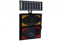 Güneş Enerjili LED'li Q300mm İkili Flaşör ST-1504
