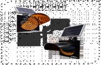 Güneş Enerjili Q200mm Flaşör Sinyal Lambası ST-1501