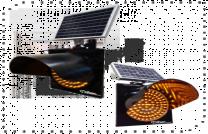 Güneş Enerjili Q300mm Flaşör Sinyal Lambası ST-1502
