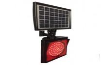 Güneş Enerjili Q200mm Flaşör Kare Sinyal Lambası ST-1514