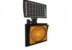 Güneş Enerjili Q300mm Flaşör Kare Sinyal/Çakar Lambası ST-1515